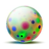 Abstract ball Stock Photo