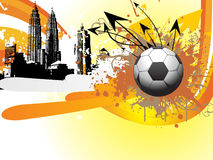 Abstract ball background, vector illustration Royalty Free Stock Photos