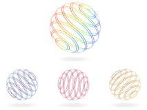 Abstract balls Stock Photos