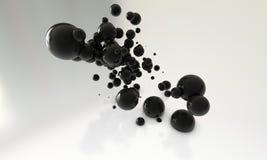 Abstract balls Royalty Free Stock Photography