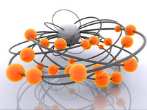 Abstract balls Stock Images