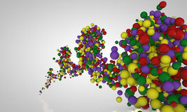 Abstract balls Stock Photography