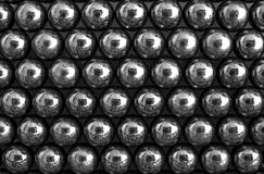 Abstract balls. Abstract metallic balls in group, applied poster edge filter Stock Photos