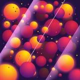 Abstract Balls Stock Image