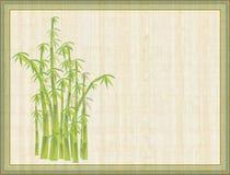 Abstract bamboe Stock Illustratie