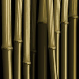 Abstract bamboo forest foliage jungle illustration Stock Image