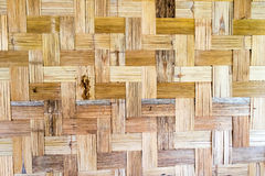 Abstract Bamboo weave sheets for Textures background Royalty Free Stock Image
