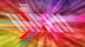 Abstract baner Royalty Free Stock Images