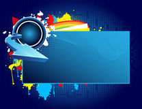 Abstract banner Royalty Free Stock Photography