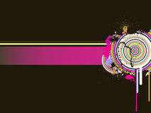 Abstract banner. Vector illustration of abstract elements Stock Photo