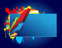 Abstract banner Stock Image