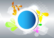 Abstract banner. For your text Stock Photo