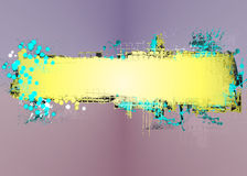 Abstract banner Stock Photography