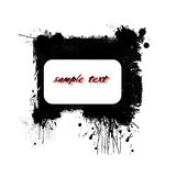 Abstract banner. Grunge abstract banner design element Royalty Free Stock Photos
