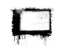 Abstract banner. Grunge abstract banner design element Stock Photo