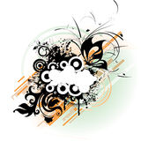 Abstract  banner. A vector format is added. Suits well for a postcard or background Royalty Free Stock Photo