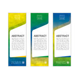 Abstract banner background in colors of Brazil. vector eps10. Abstract banner background in colors of Brazil. Tree colors concept for Brazil 2016. vector eps10 Vector Illustration