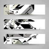 Abstract banner backgrounds Stock Image