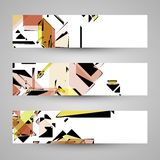 Abstract banner backgrounds Royalty Free Stock Image