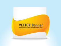 Abstract banner with banner Royalty Free Stock Photos