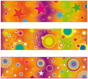 Abstract banner collection Stock Photo