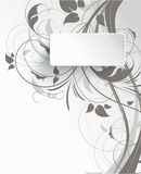 Abstract banner with 3D effect Stock Image