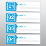 Abstract Banner for Design and Creative Work, Vector Illustratio Stock Photography