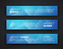 Abstract banner design Stock Photography