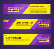 Abstract banner design Royalty Free Stock Image