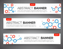 Abstract banner design Royalty Free Stock Photos