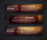 Abstract banner design Stock Images