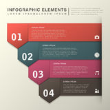 Abstract banner infographics Stock Photos