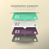 Abstract banner infographics Stock Photo