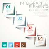 Abstract banner infographics Royalty Free Stock Images
