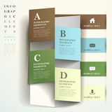 Abstract banner infographics Royalty Free Stock Photography