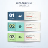 Abstract banner infographics Royalty Free Stock Image