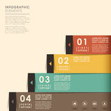 Abstract banner infographics Stock Images