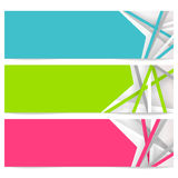 Abstract banner Royalty Free Stock Image
