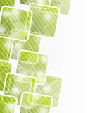 Abstract banner with squares for design corporate stock illustration