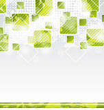 Abstract banner with squares for design corporate  Stock Images