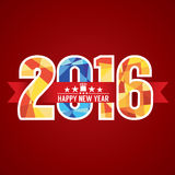 2016 Abstract Banner. Stock Images