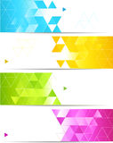 Abstract banner Stock Photo