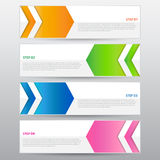 Abstract Banner, Vector Work Royalty Free Stock Photos