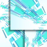Abstract banner for your design. Stock Photo
