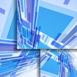 Abstract banner for your design. Stock Image