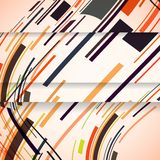 Abstract banner for your design. Stock Images