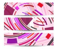 Abstract banner for your design Stock Photo