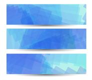 Abstract banner for your design, colorful digital Royalty Free Stock Image