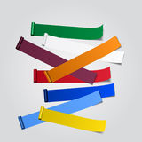 Abstract bannermalplaatje Vector illustratie Stock Illustratie