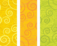 Abstract banners Royalty Free Stock Photography